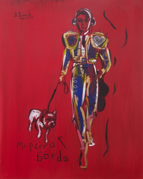 Bullfighter in New York: Domingo Zapata at C24 Gallery