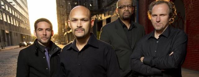 Henry Cole (drums), Miguel Zenon (alto sax), Luis Perdomo (piano), Hans Glawischnig (bass) Photo credit: Braithwaite & Katz