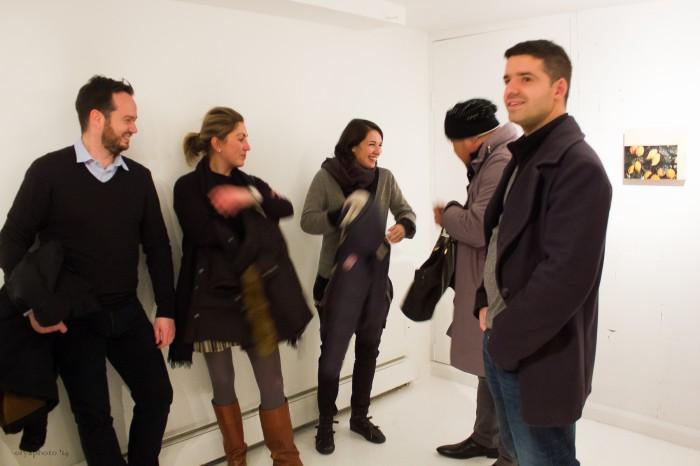 AF Editoir in Chief Oscar Laluyan presenting the Gucci to Arianna Carossa