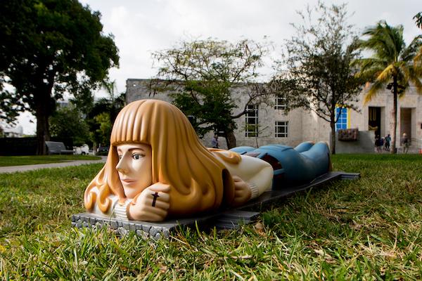 Art Basel in Miami Beach 2014 | Public | Galeria Marilia Razuk | Ana Luiza Dias Batista, Eva (Eve), 2014. MCH Messe Schweiz (Basel) AG
