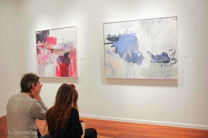 Breathing Color by Beatriz Elorza at Spanierman Modern