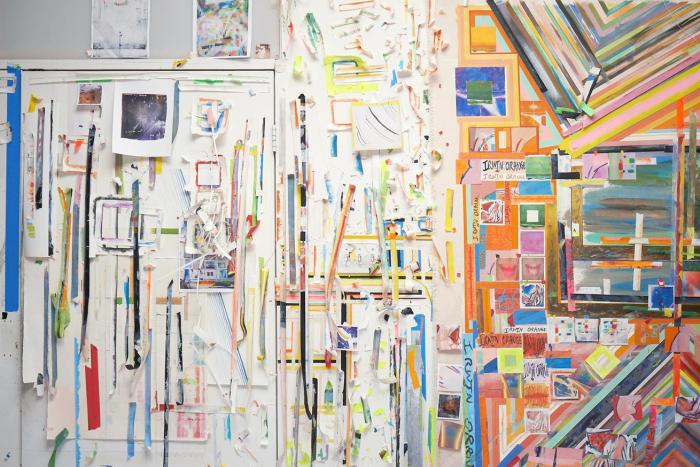Franklin Evans Studio Installation Photo by Tom Powel courtesy of Ameringer McEnery Yohe