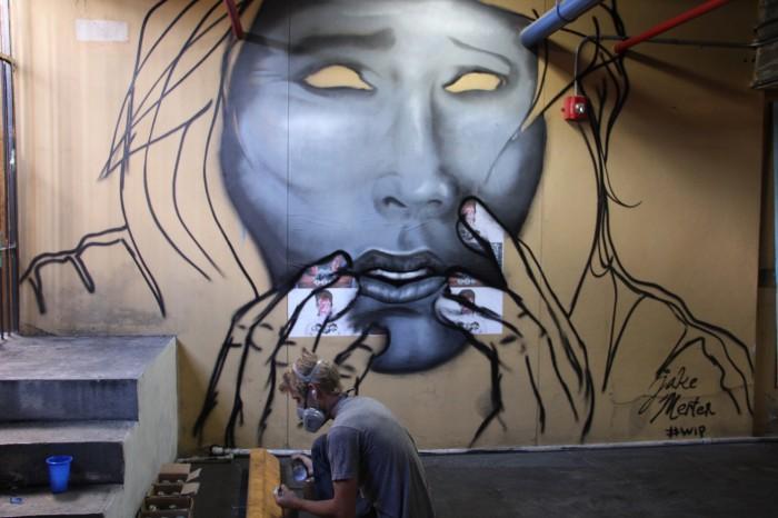 Frige Graffiti artist