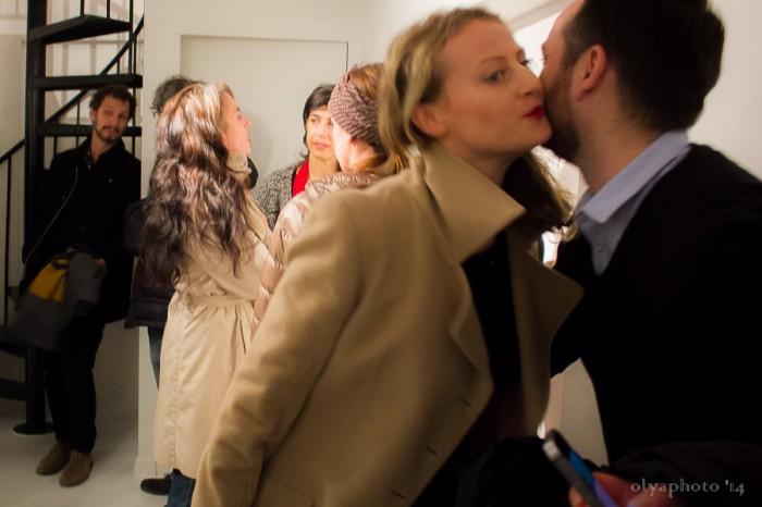 Kisses abound on Art Night