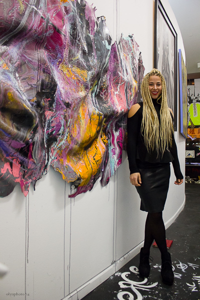 Director of 60 Orchard Gallery and artist Kennedy Yanko