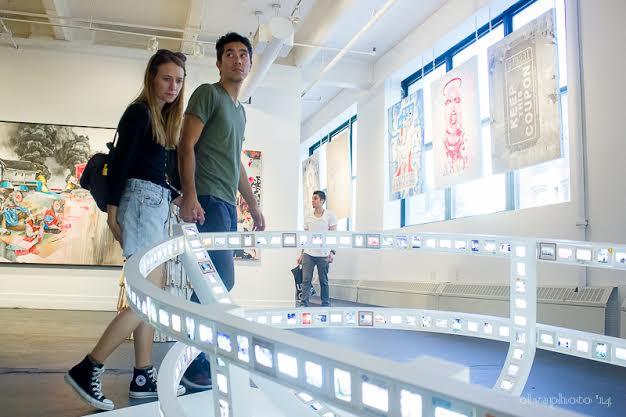 Masters Gallery at DUMBO Arts Festival September 2014