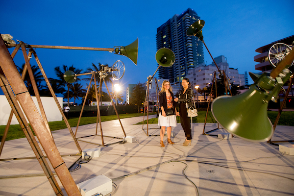 Art Basel in Miami Beach 2014 | Public | Revolver Galería | Jose Carlos Martinat, Manifiestos, 2014. MCH Messe Schweiz (Basel) AG