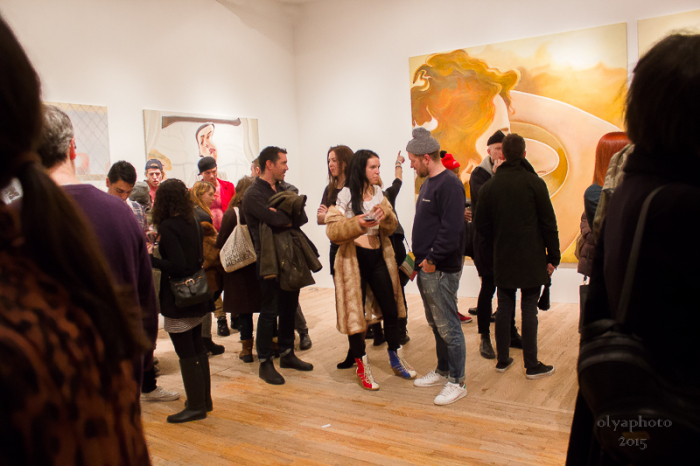 Art is lively and pops in Tribeca at Postmasters Gallery
