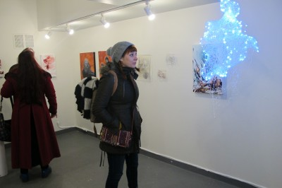 Opening for Magick Show at Galerie Protégé