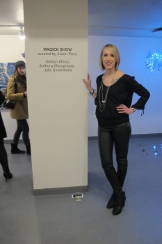President and founder of Galerie Protégé  Jaclyn Acker