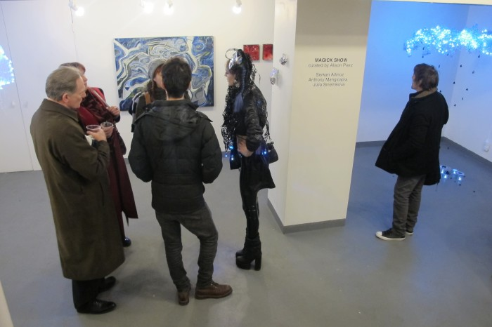 Opening night for Magick Show at Galerie Protégé