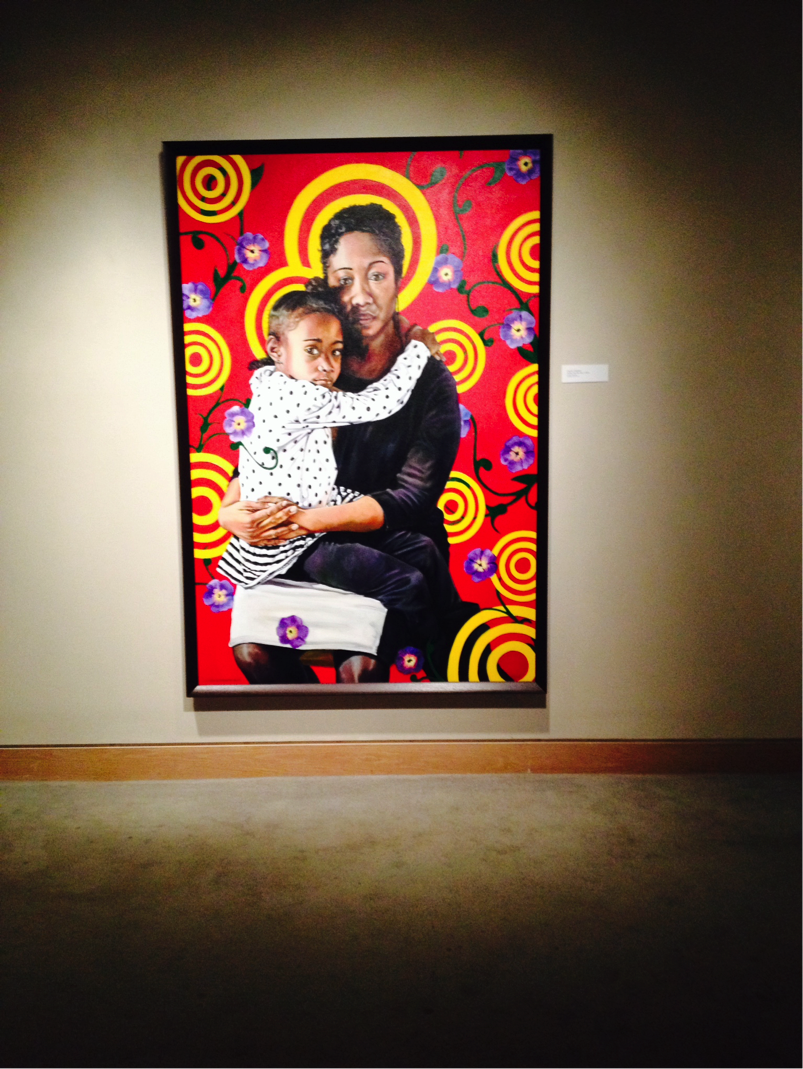 """Clayton Singleton, Valedictorian series, oil on canvas, 2014, 48"""" x 36"""""""