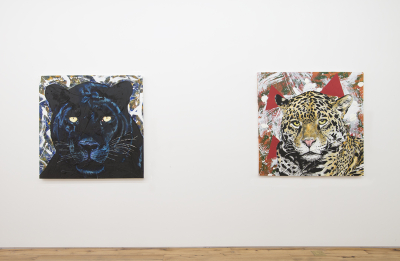 John Newsom makes ART that can pounce and kill