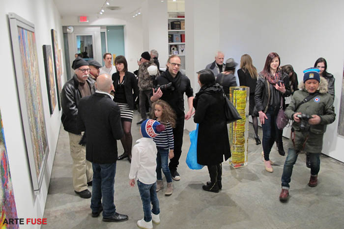 Art denizens come out to Chelsea on Thursday nights