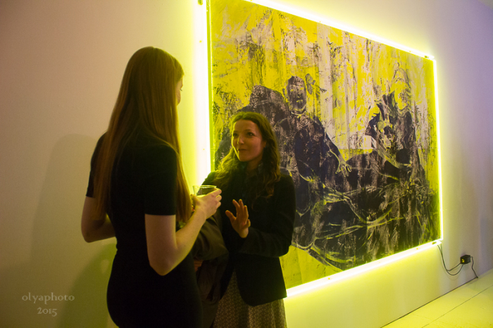 Art glows at Vito Schnabel Gallery