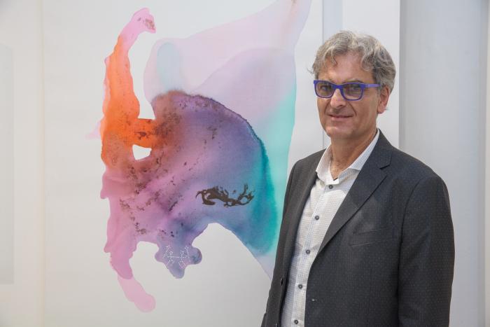 Ted barr at clio art fair