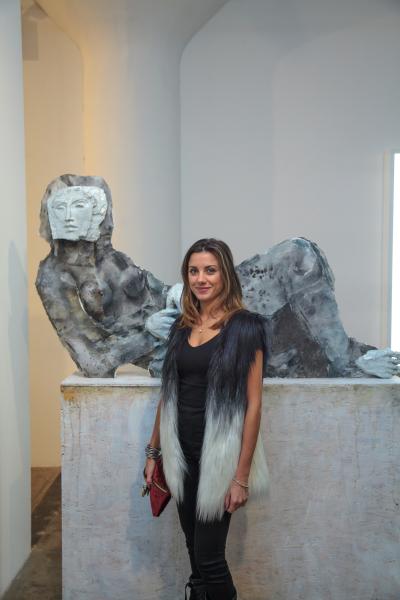 Verdiana Patacchini at clio art fair