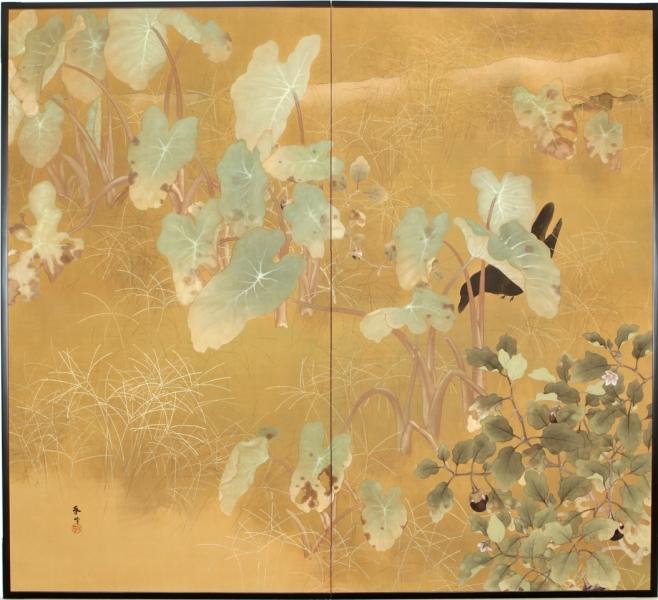Focus on Asia Week: Japanese Screens/Scrolls at Erik Thomsen Gallery