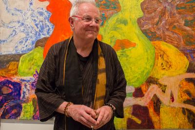 Artist Bill Jensen