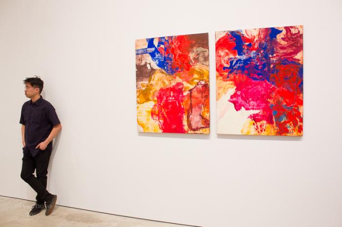Bill Jensen Paintings at Cheim & Read