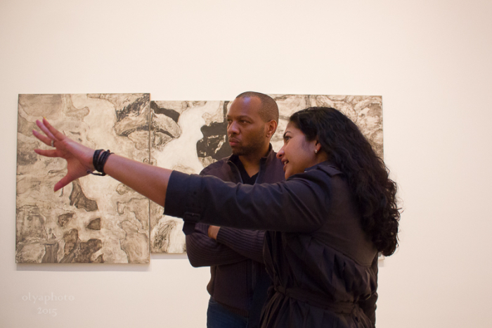 Viewing the art of Bill Jensen at Cheim & Read