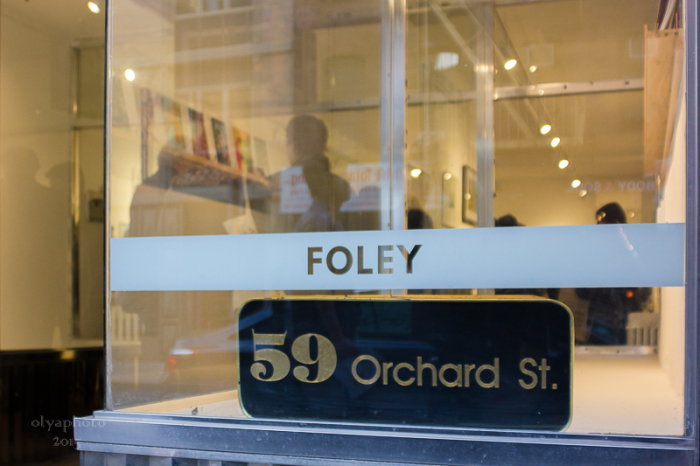Welcome to Foley Gallery on the LES