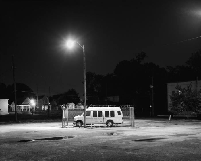 Matt Ducklo, South Parkway East Church of Christ, 2011 Gelatin silver print, 16 x 20 inches courtesy of Launch F18 gallery