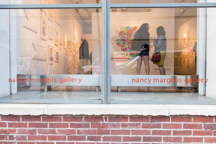The exterior of Nancy Margolis Gallery