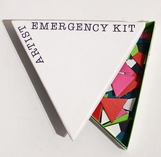 Artists emergency kit by Josef Pinlac