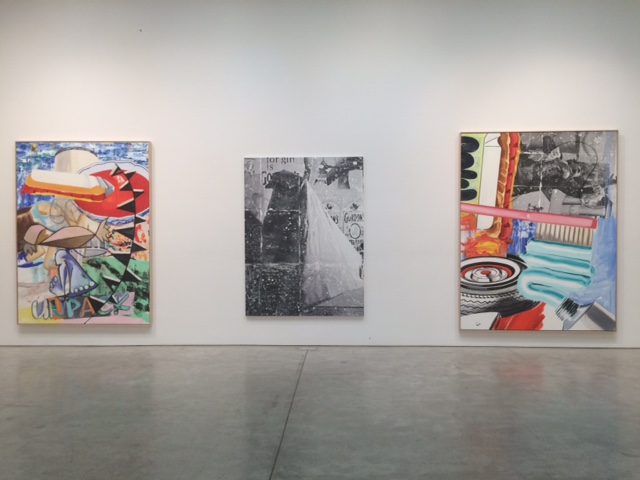 David Salle: New Paintings at Skarstedt Gallery