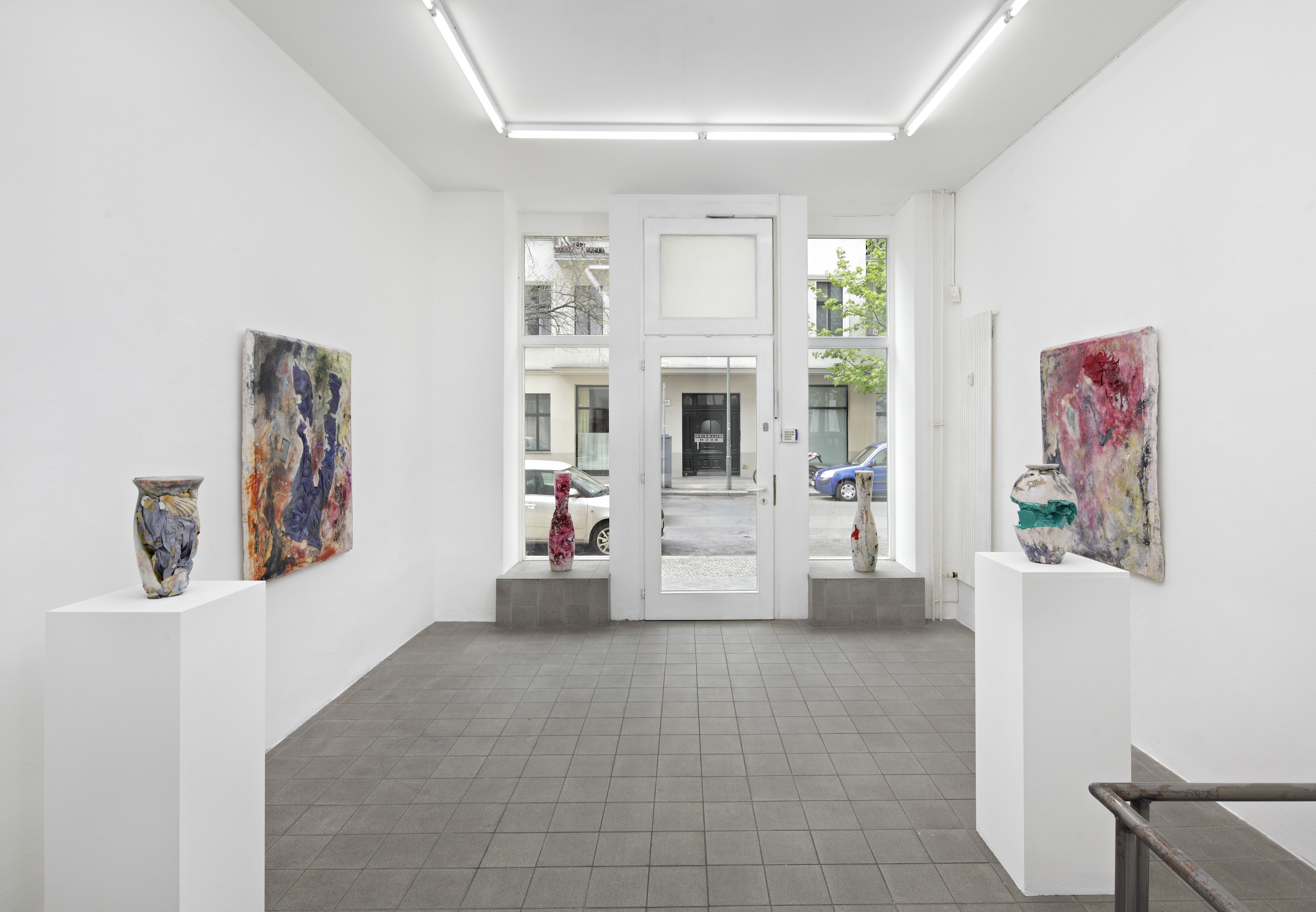 Exhibition view. Gillmeier Rech, Berlin, 2015 / photo © Hans-Georg Gaul