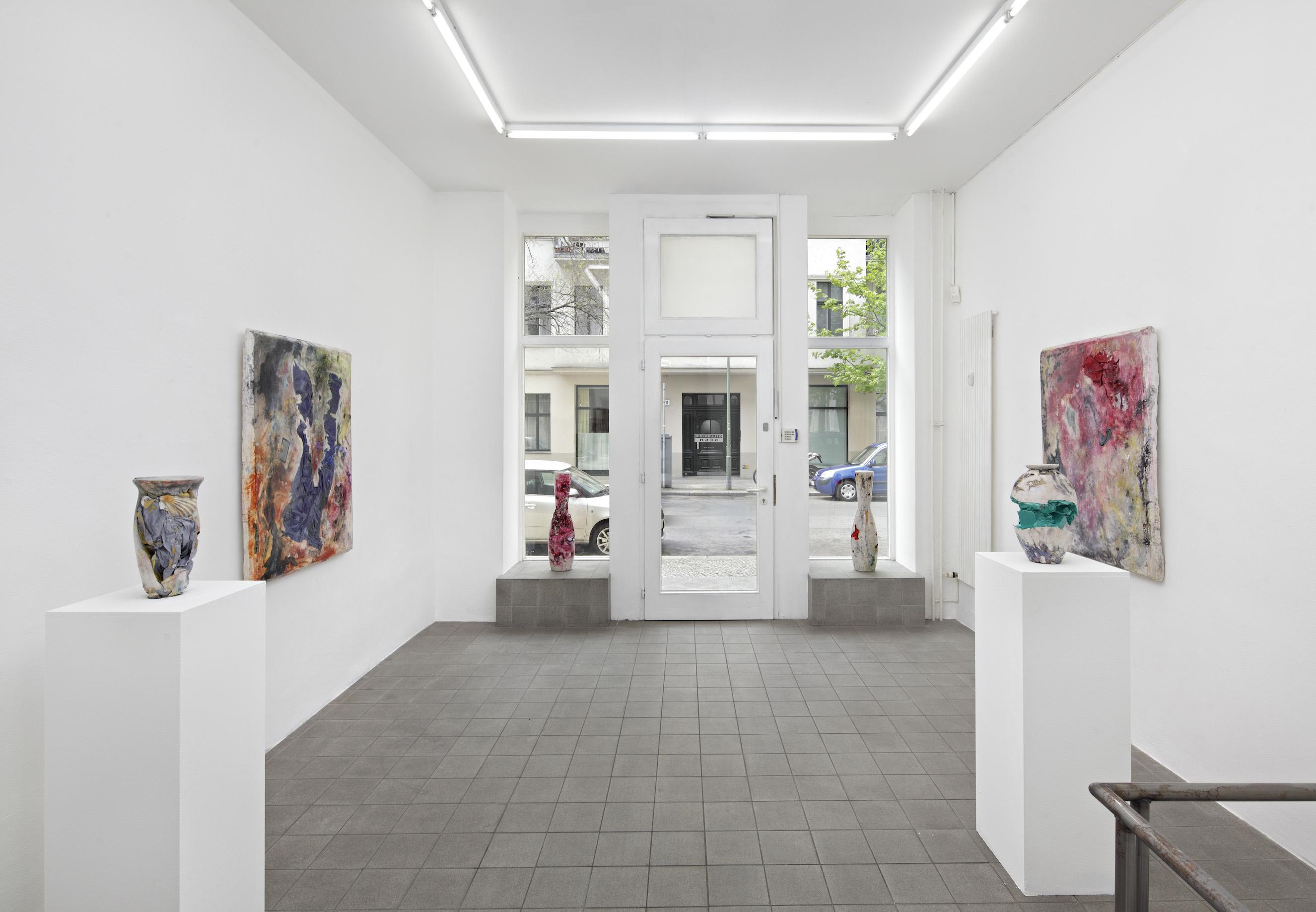 Exhibition view. Gillmeier Rech, Berlin, 2015 / photo © Hans-Georg Gaul