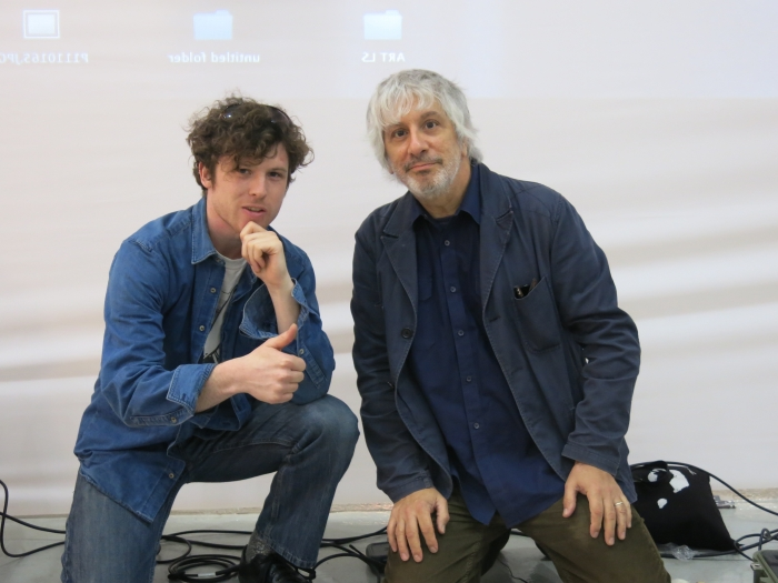 Nick Rogers and Lee Ranaldo