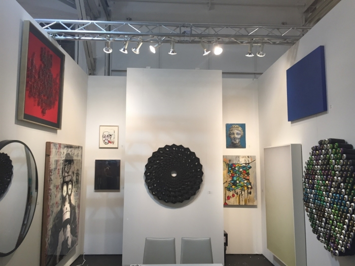 Zener Schon contemporary art at ARTMARKET San Francisco