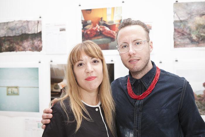 Aurelie Vandewynckele (curator), Ari Lankin (artist)