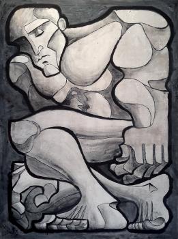 Bushwick Open Studios Highlight: Axel Ventura, Paintings and Drawings