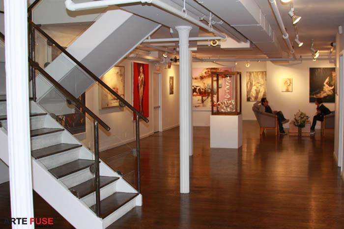 Downstairs at Georges Bergès Gallery