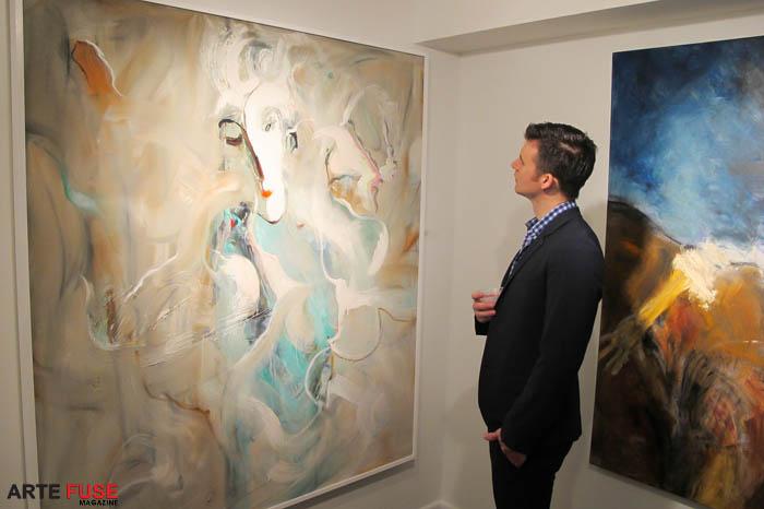 Georges Bergès Gallery opening night