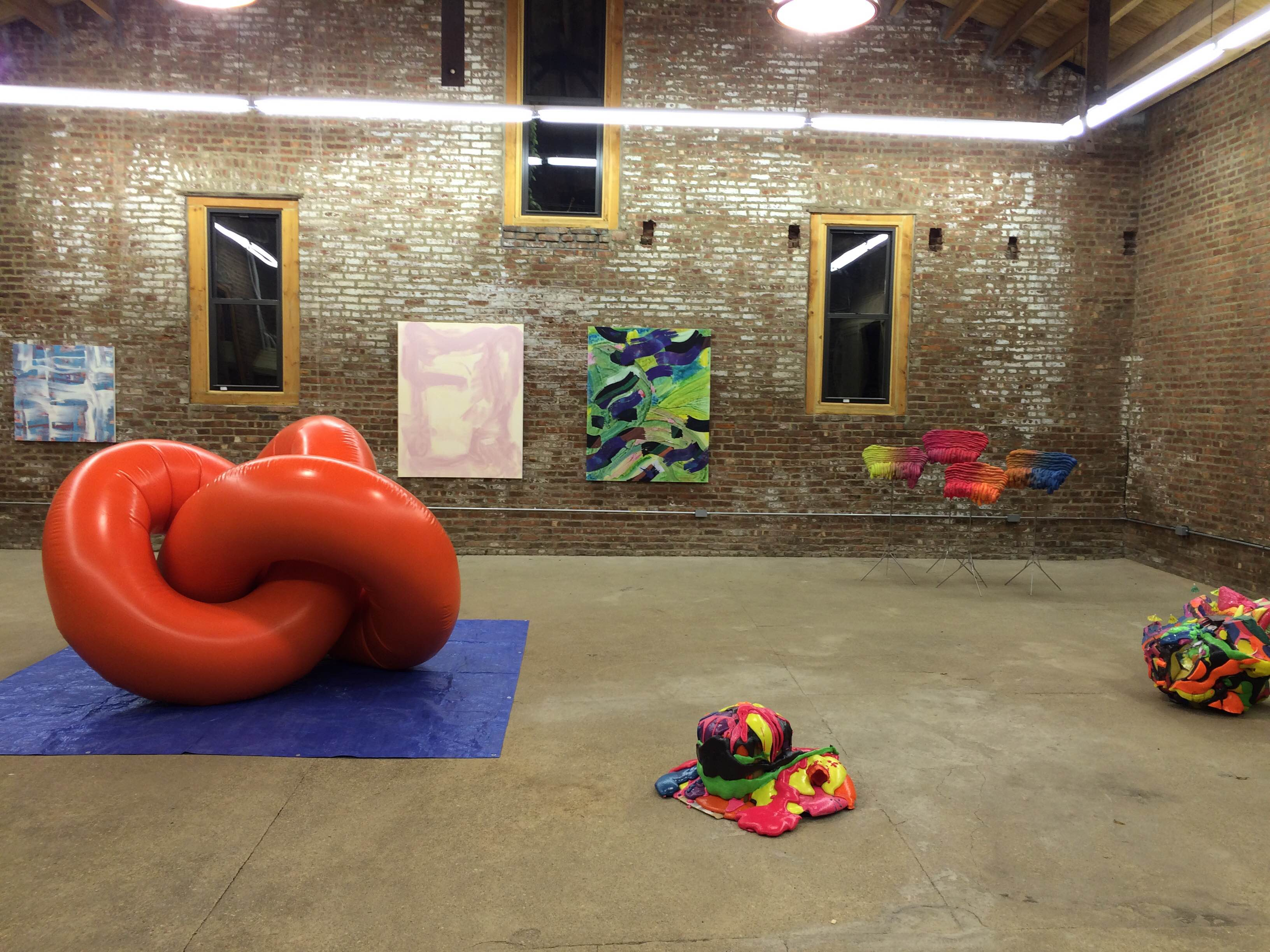 De Colores – a Group Show at the Buggy Factory (for BOS), Curated by Enrico Gomez