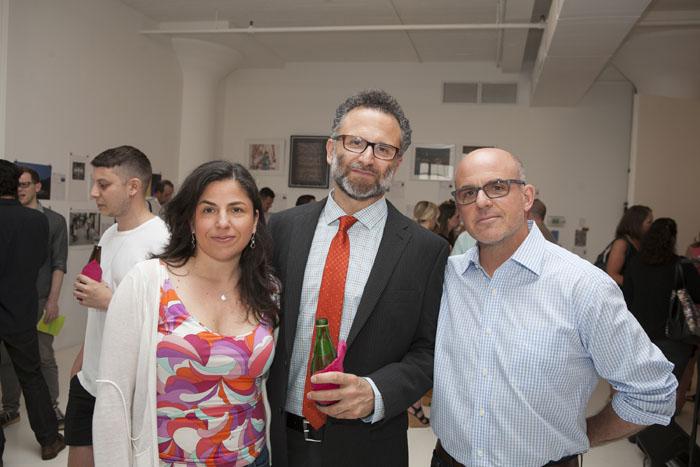 Marla D'Urso (founder, 3 Tarts bakery), Rodney Durso (founder, ArtBridge), Gary D'Urso (Bonhams)