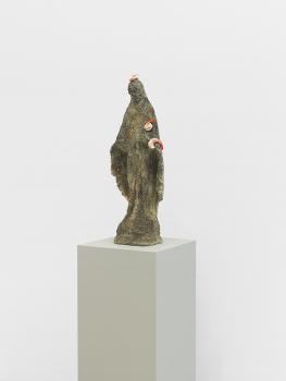 Matelli, Virgin Mary, 2015, concrete and bronze, 27 x 10 x 6.5 in. 68.58 x 25.4 x 16.51 cm CNON 56.767