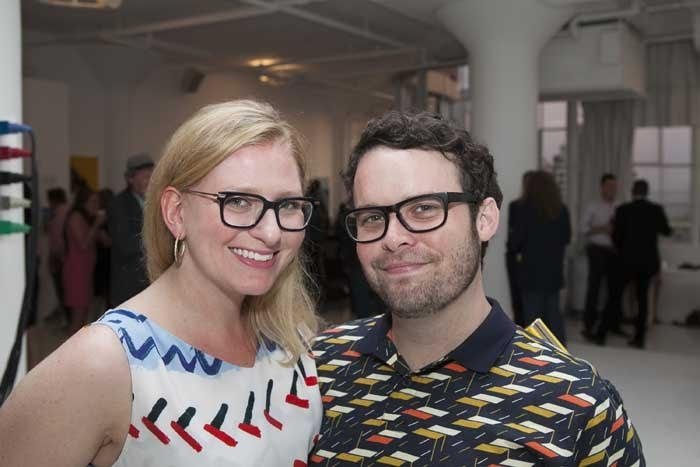 Angelina Lippert (director, Rennert's Gallery), Brendan Hickey
