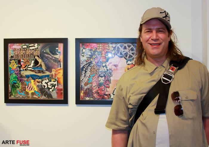 Artist Michael Anderson