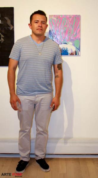 Artist Rodrigo Valles
