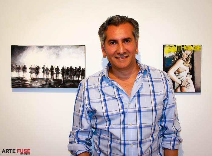 Artist Vincent Zambrano
