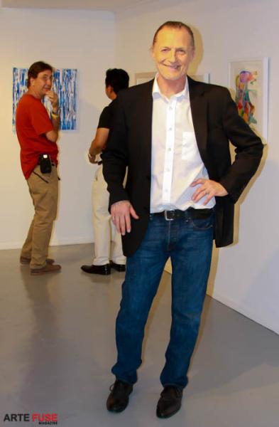 Gallerist Adriaan Van Der Plas