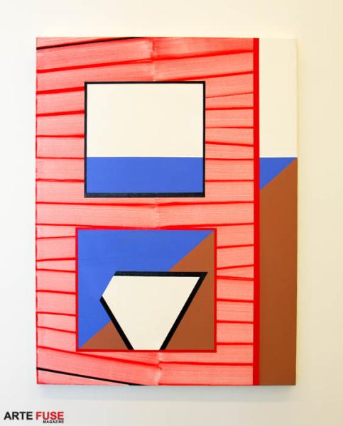 Gary Stephan E-1027, 2014 Acrylic on canvas 60 x 48 inches 152.5 x 122 cm