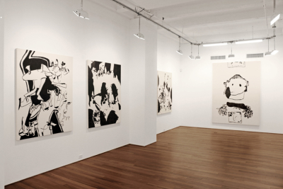 "The Impossibility of Abstraction – Ray Bull: ""Get Up With It"" at Ana Cristea Gallery"