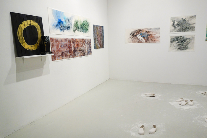Installation shot of the show