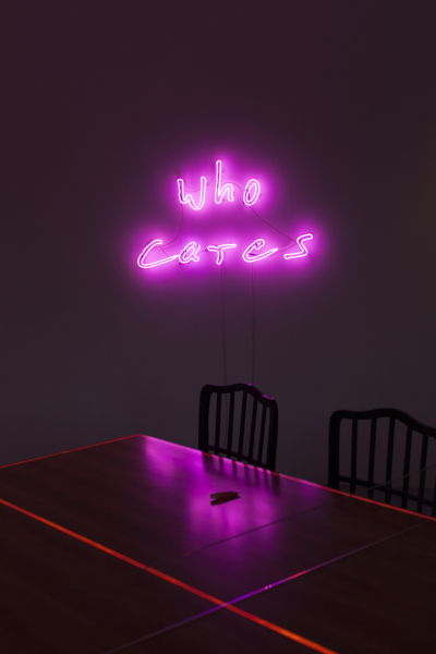 Jan Kuck, Who Cares, 2015